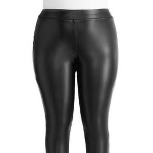 Cato Faux Leather Stretchy Leggings